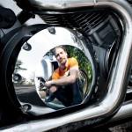 фотосъемка на мотоцикле, байк фотосессия, портрет